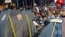 Метежниците от незаконната блокада в Пловдив - шестима криминално проявени и шестима пияни