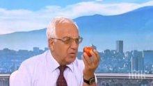Проф. Мермерски: Пийте вода с оцет и мед за чисти кръвоносни съдове!