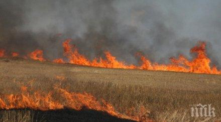 Военни се включиха в потушаването на пожари в Сливенско и Хасковско