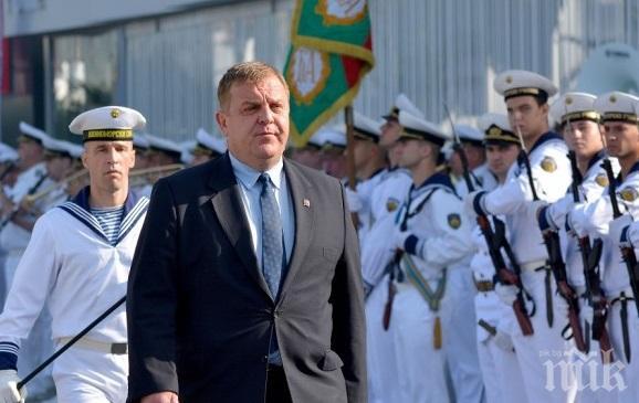 Министър Каракачанов ще участва в тържественото отбелязване на 141-ата годишнина на Военноморските сили