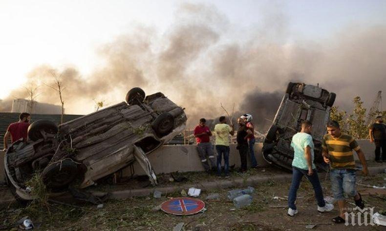 Над 20 държави изпратиха помощ в опустошената столица на Ливан