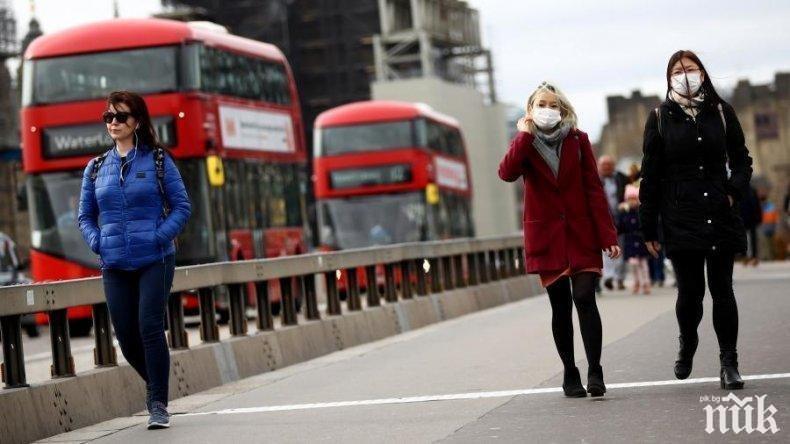 Заразените с коронавируса във Великобритания вече са над 307 000