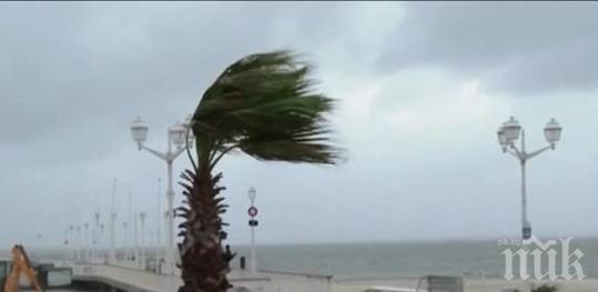 Най-малко трима души загинаха при силна буря на гръцкия остров Евбея