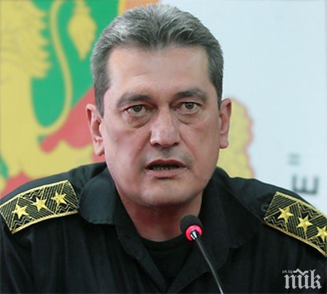 Главен комисар Николай Николов предупреди за опасни пожари