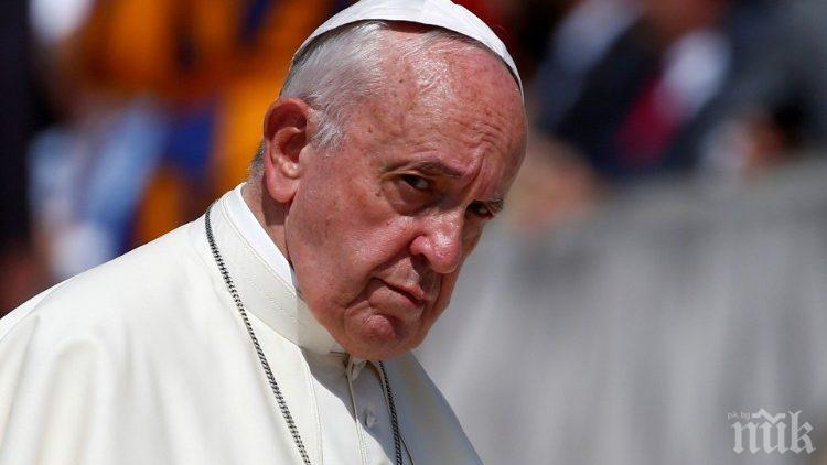 Папа Франциск изпрати 250 000 евро на Ливанската църква
