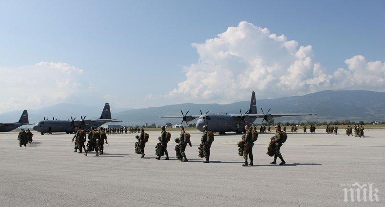 """650 военни от България и САЩ участват в учението """"Тракийскo лято – 2020"""""""