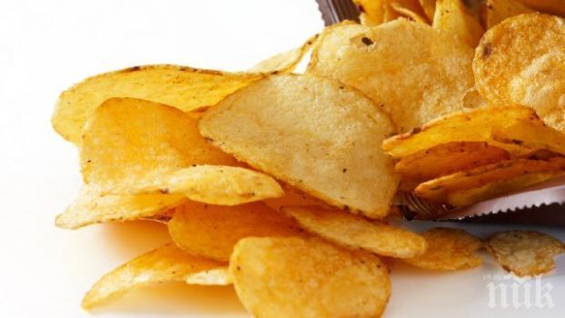 Заради рядка болест момиче 10 години се храни само с чипс