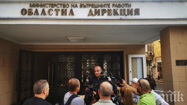 Палаткаджиите в Пловдив блокирали майка с дете, тръгнали за болница