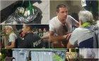 Пияни протестиращи се сбиха на Орлов мост. Реват на полицията да ги разтървава (ВИДЕО)