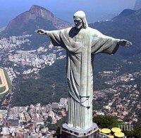 Реставрират статуята на Христос в Рио де Жанейро