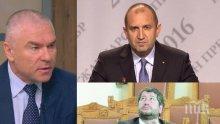 Веселин Марешки с остра позиция: Ще блокирам централата на Христо Иванов с искане за оставката на Румен Радев! 95% не подкрепят блокадите