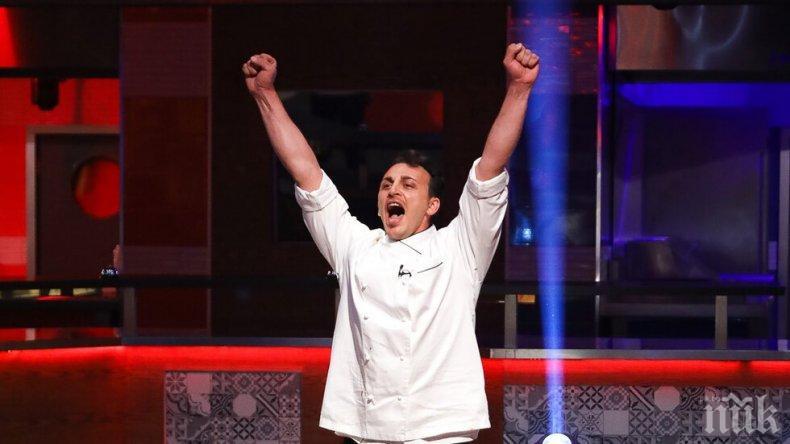 """Победителят от """"Хелс Китчън"""" отвори италиански ресторант"""