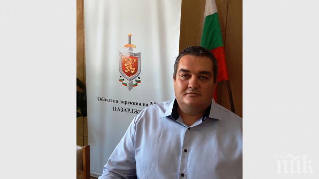 Близки и колеги изпращат комисар Телбизов на 19 август