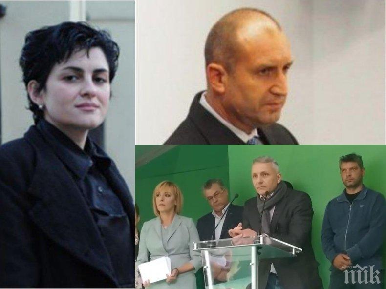 """Калина Андролова разкри защо Хаджигенов нарича Мая Манолова """"крива щанга"""": На Радев сигурно му казва """"тъп фатмак"""" (ВИДЕО)"""