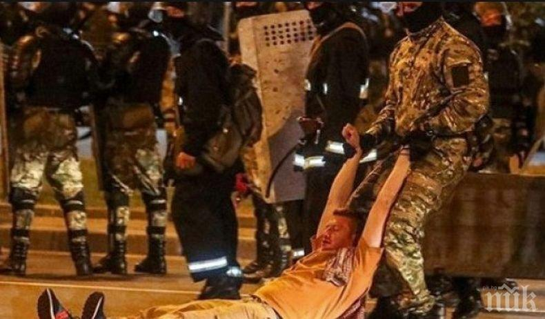 Втора вечер на безредици в Минск