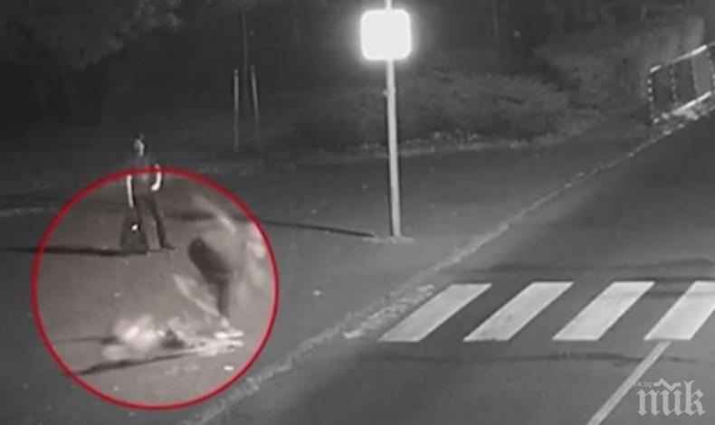 """Каратистът"", вандалствал на пешеходна пътека в Бургас, се оказа софийски отличник"