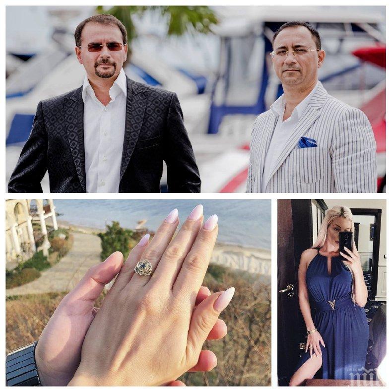 ГОРЕЩО В ПИК: Ето го мистериозния втори син на милионера Динко Динев, който два пъти не успя да се ожени заради COVID-19 (УНИКАЛНА СНИМКА)