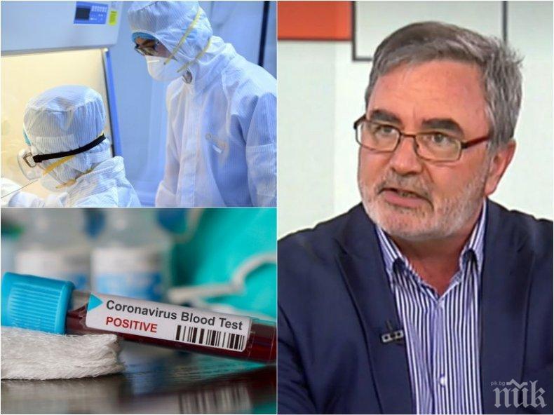 ЗАРАЗАТА: Доц. Ангел Кунчев с последни новини за пандемията от COVID-19: Има повече починали, защото болните са повече