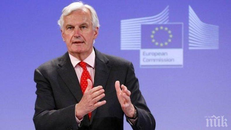 Мишел Барние поиска по-малко бюрокрация и повече демокрация в Брюксел, за да не се повтори Брекзит
