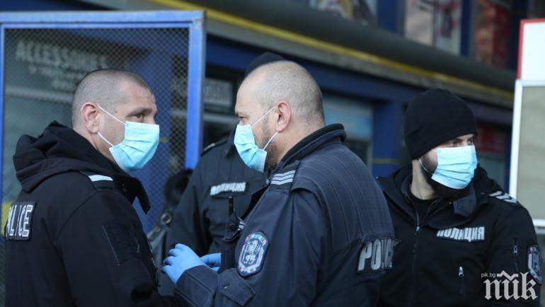 МВР провери 168 под карантина във Варна