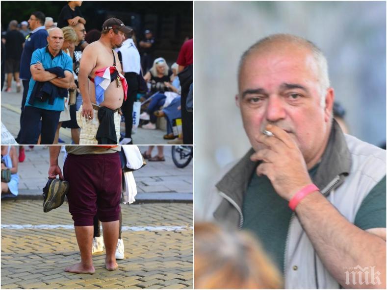 ФИАСКО: Бабикян остана без метежници на Ларгото - събра на биричка голи, боси и Йоло Денев (СНИМКИ)