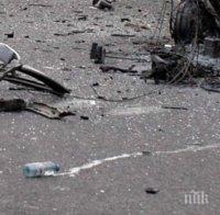 тежка катастрофа блокира пътя банско гоце делчев пострадало дете