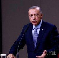 Ердоган заплаши всеки, който нападне турски кораб в Източното Средиземноморие