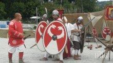 Най-новата аткракция във Велико Търново - възстановка на древноримски битки