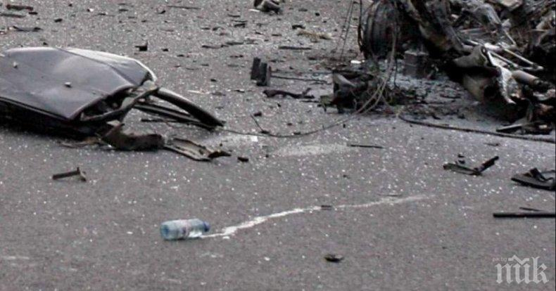 Дете пострада при катастрофа край Банкя