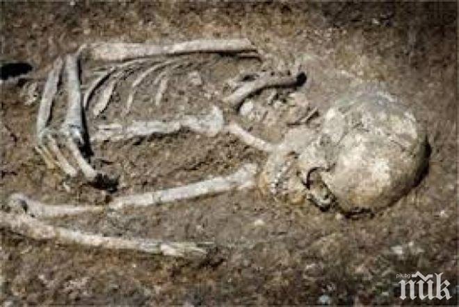НАХОДКА: Откриха напълно запазен хилядолетен скелет на човек в Тамаулипас