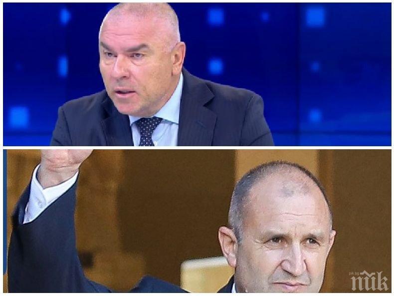 Веселин Марешки избухна: Искат спешни избори, за да вкарат Румен Радев през задния вход, крие служебния си кабинет от срам