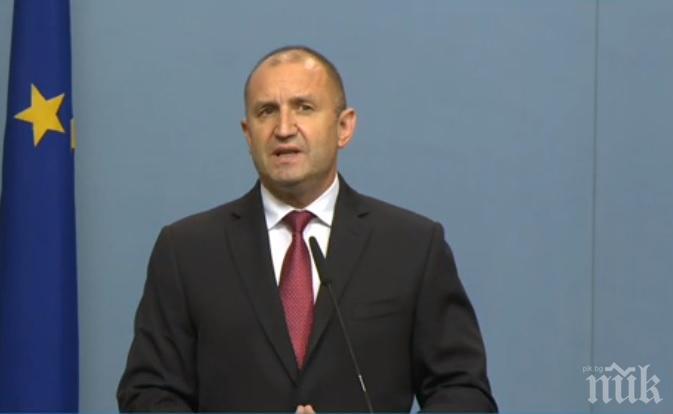 ИЗВЪНРЕДНО В ПИК TV! Радев отговори на Борисов: Доверието в управляващите е изгубено! (ВИДЕО/ОБНОВЕНА)