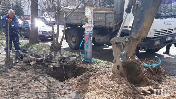 400 метра дъждовна канализация решават проблеми в Перник