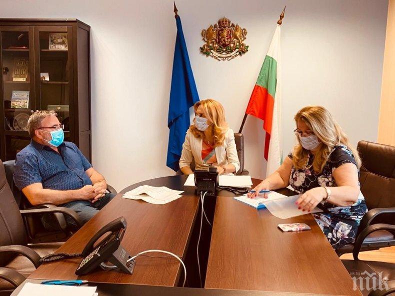 Марияна Николова проведе телефонен разговор с държавния секретар по здравеопазване на Германия за COVID-19 по морето