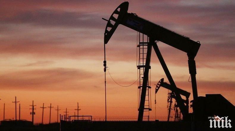 Петролът поскъпна до 45 долара за барел