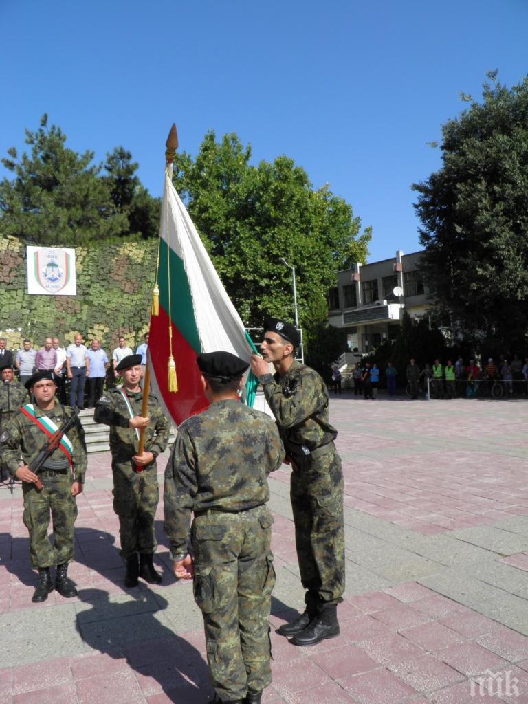 18 новоназначени военнослужещи положиха военна клетва в Белене