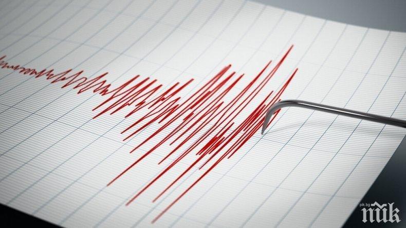 Земетресение 3.9 по Рихтер е регистрирано в Румъния