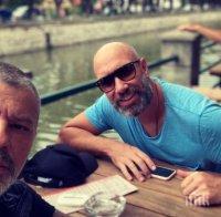 Куката и Захаров Бахаров снимат заедно в