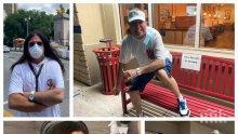 РОДНИНСКИ ВРЪЗКИ: Денис Ризов посрещна Божков в САЩ