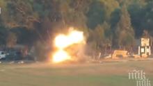 НАПРЕЖЕНИЕТО ПРОДЪЛЖАВА: Израел пак атакува Хамас в Газа