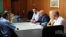 Кметът на Ямбол се срещна с министър Димитров заради язовирите - eто какво решиха (СНИМКИ)