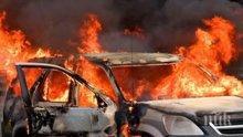 Откриха труп в изгорен автомобил във Варна