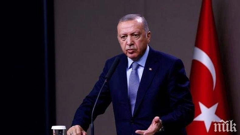 Ердоган със закана: Турция ще вземе това, което й принадлежи в Средиземно, Черно и Егейско море