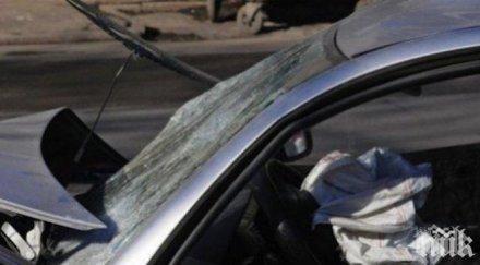 каскадьор19 годишен заби джипа билборд сандански