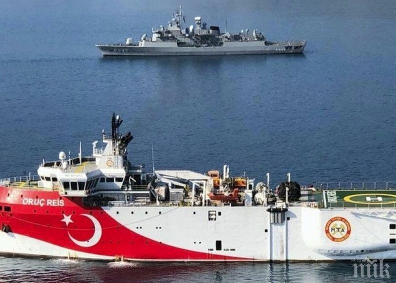 Турция започва военни учения в Средиземно море