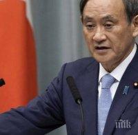 йошихиде суга издига кандидатурата премиер япония края седмицата