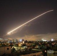 Противовъздушната отбрана на Сирия е отразила ракетни атаки на Израел