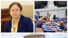 ИЗВЪНРЕДНО В ПИК TV: Депутатите гласуваха оставката на шефката на ЦИК Стефка Стоева (НА ЖИВО/ОБНОВЕНА)