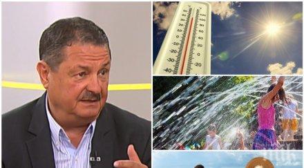 климатологът проф георги рачев добри новини очаква горещ септември