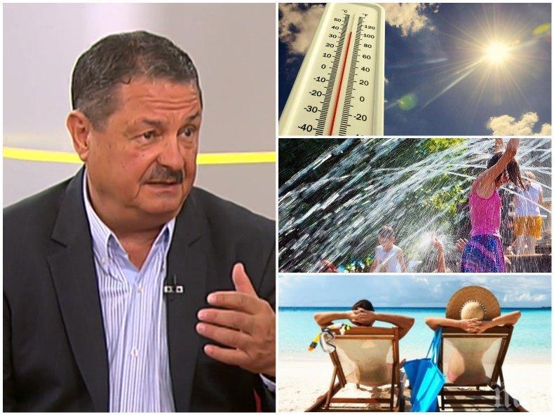 Климатологът проф. Георги Рачев с добри новини: Очаква ни горещ септември